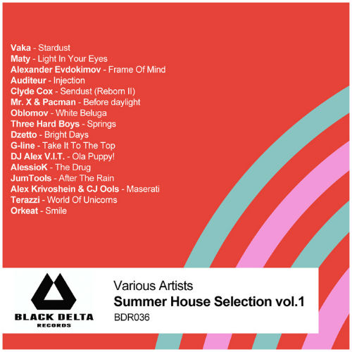 VA - Summer House Selection Vol.1